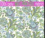 75*150D优质多花型宽幅全涤印花磨毛布