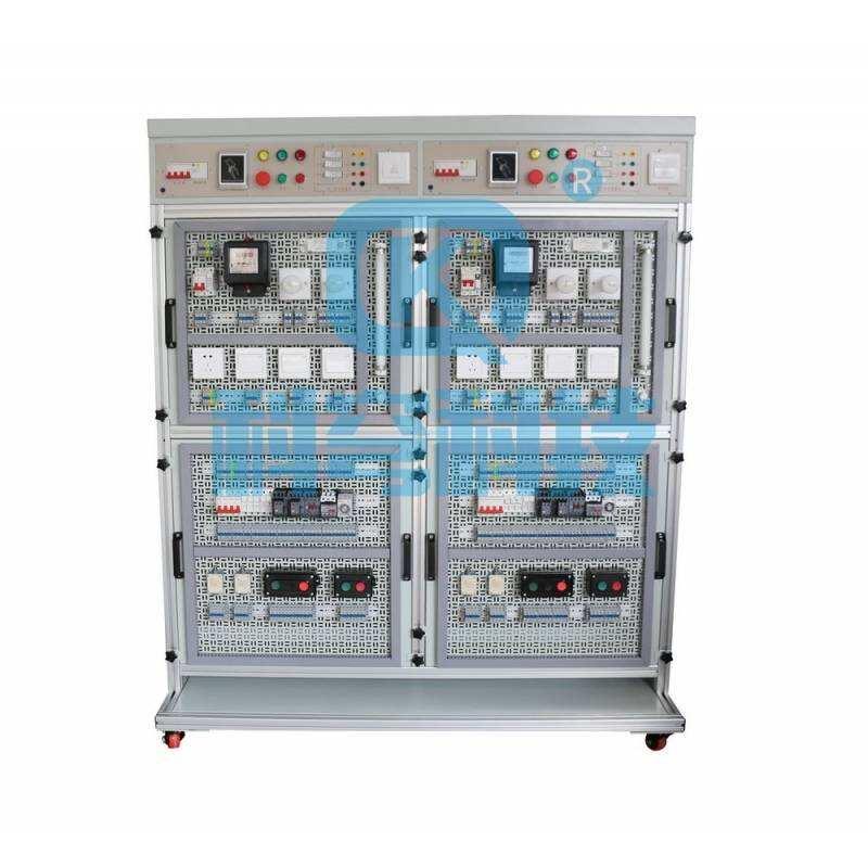 KQDJF-2型? 維修電工及儀表照明技能實訓裝置