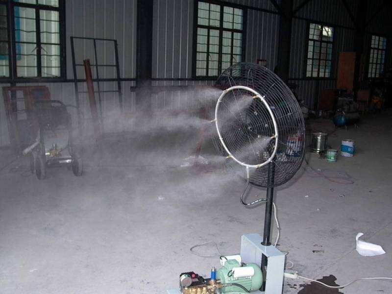 高压微雾加湿机 高压雾化泵机组 加湿机组