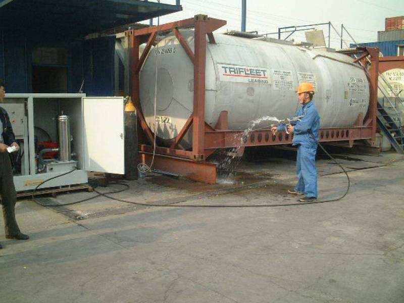 水泥厂用高压清洗机 高压水炮 烟道结皮清洗